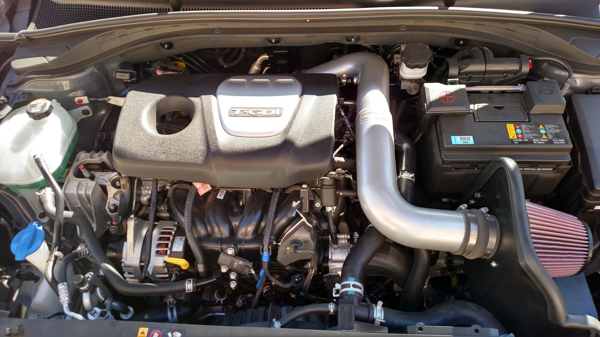 K&N intake - Hyundai Elantra GT Turbo & Elantra GT N